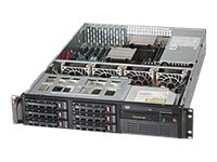 Supermicro SuperServer 6028R-TT - rack-mountable - no CPU - 0 GB - no HDD