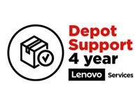 Lenovo Depot/Customer Carry In Upgrade - Extended service agreement - parts and labor (for system with 3 years depot or carry-in warranty) - 4 years (from original purchase date of the equipment) - for ThinkPad P1; P40 Yoga; P50; P51; P52; P53; P70; P71; P72; P73; W540; W541