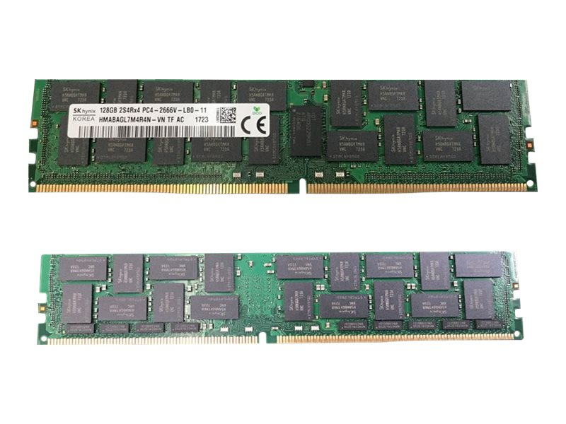HPE SmartMemory - DDR4 - module - 128 GB - LRDIMM 288-pin - 2666 MHz / PC4-21300 - 3DS Load-Reduced