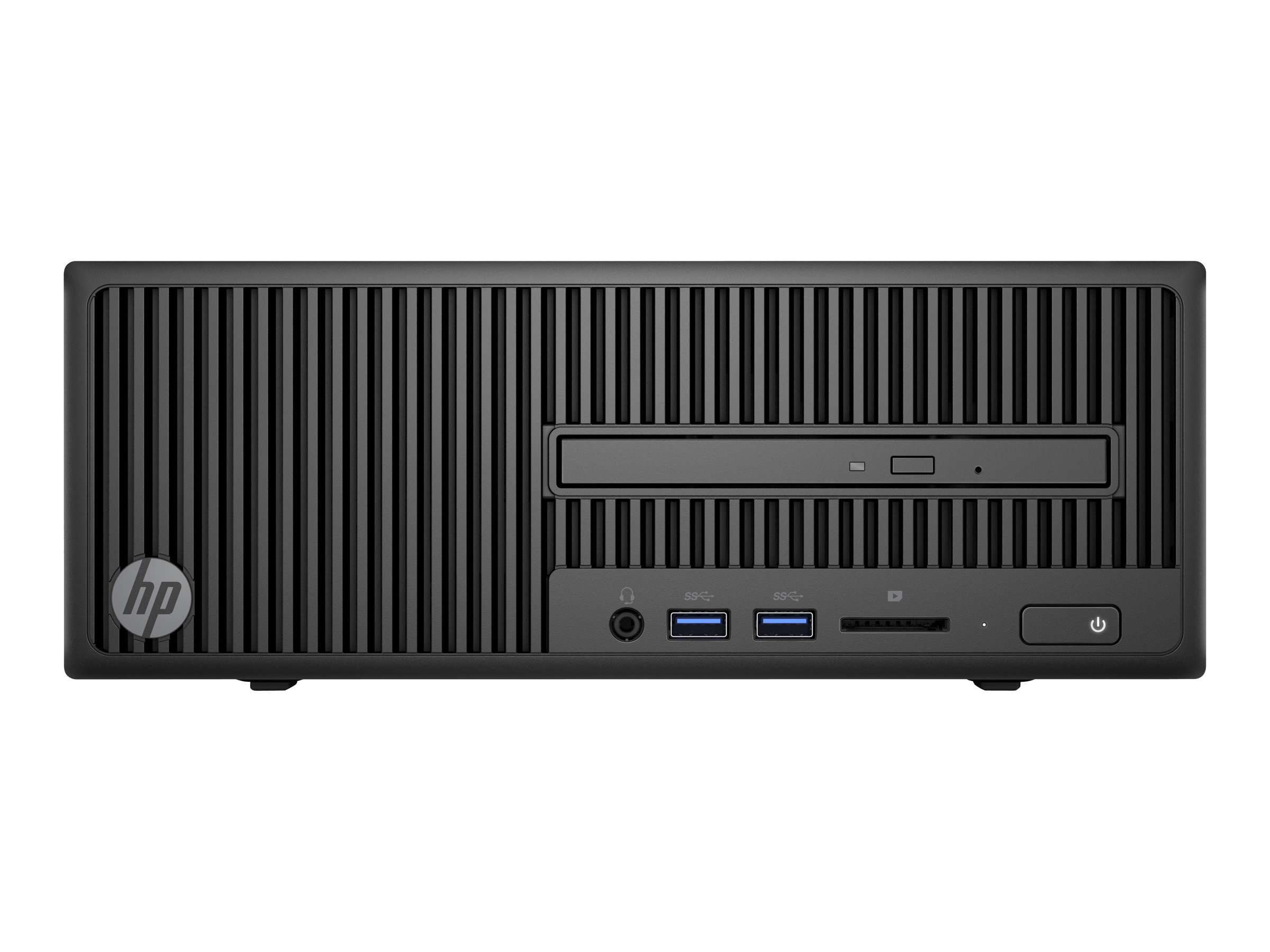 HP 280 G2 - SFF - 1 x Core i3 6100 / 3.7 GHz - RAM 4 GB - HDD 500 GB - DVD SuperMulti