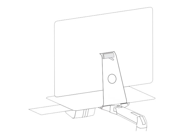 Ergotron StyleView - mounting component