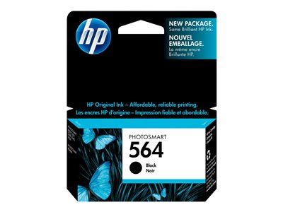 HP 564 6 ml black original ink cartridge