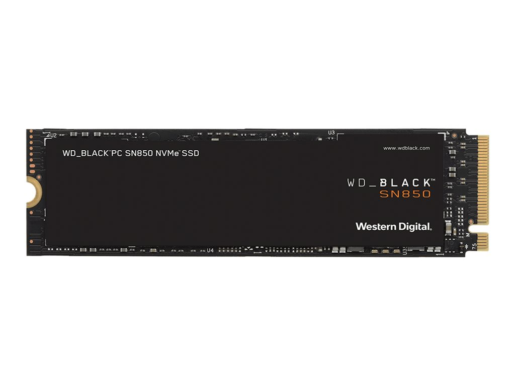 WD Black SSD SN850 Gaming NVMe 1TB M.2