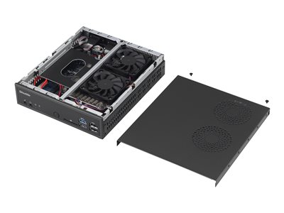 Shuttle DH170 Barebone Slim-PC LGA1151 Socket Intel H170 Express GigE