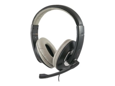 ThinkWrite Ultra Durable Headset full size wired 3.5 mm jack black