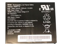 Zebra - Tablet battery - 1 x lithium polymer 3300 mAh 25.1 Wh - for Zebra ET51 (8.4 in), ET56 (8.4 in), ET56 Enterprise Tablet (8.4 in)