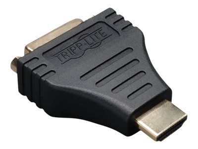 Tripp Lite HDMI to DVI Cable Adapter Converter Compact HDMI to DVI-D M/F - display adapter