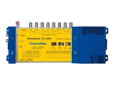 TechniRouter 9/1x8 G - multicommutateur de signal satellite