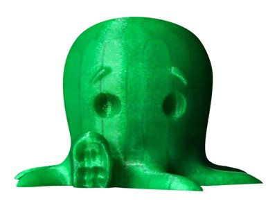 - 1 - Translucent Green - PLA-Filament