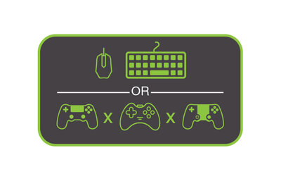 Play Your Way With Controller Crossover Mode