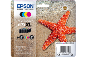 Multipack 4-colours 603XL Ink