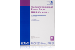 Premium Semigloss Photo Paper, DIN A2, 250g/m², 25 Sheets