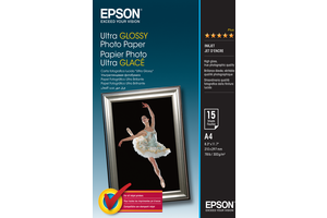 Ultra Glossy Photo Paper - A4 - 15 Sheets