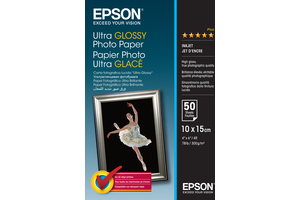 Ultra Glossy Photo Paper - 10x15cm - 50 Sheets