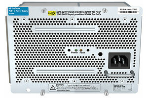 HPE X362 720W 100-240VAC to 56VDC PoE Power Supply