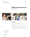 HPE Proactive Care Service – Support Services data sheet (English)