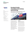 Eurobank Serbia streamlines data backup and archiving