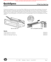 HP Rack Top Cable Trays (English)