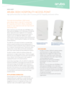Aruba 303H Series Unified Hospitality Access Points Data Sheet (English)