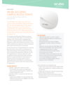 Aruba 303 Series Campus Access Points Data Sheet (English)