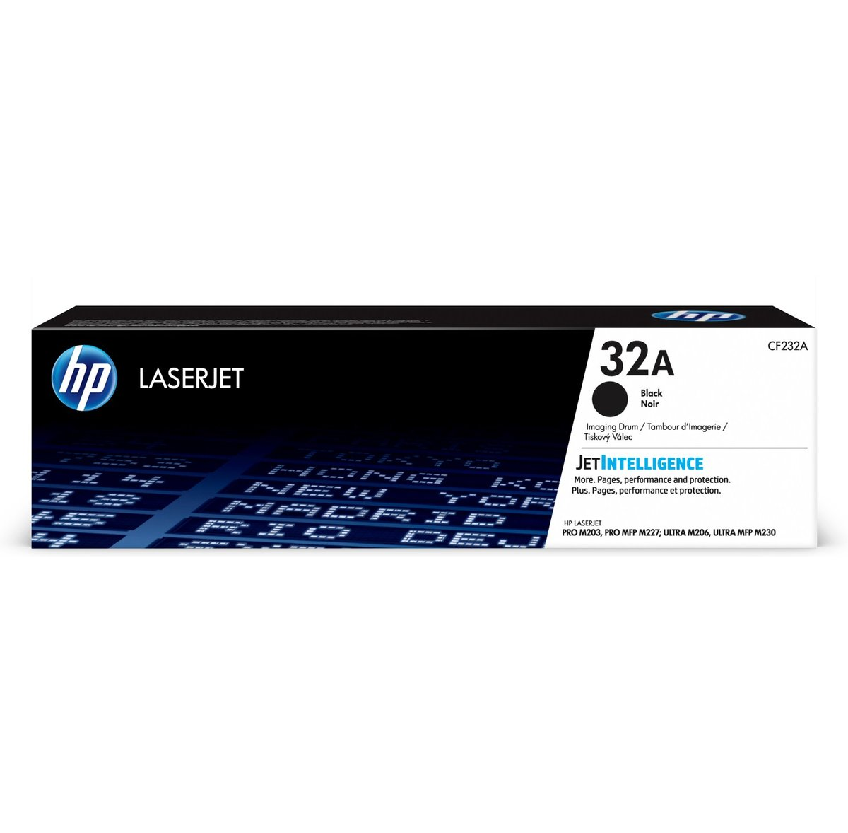 Compatible with HP CF232A Toner Cartridges for HP32A HP M203dn M203dw MFP M227sdn M227d M227fdn M227fdw Toner Cartridge Black Number of Printed Pages 23,000 Pages