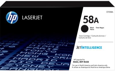 HP 58A Black Original LaserJet Toner Cartridge