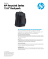 """HP Recycled Series 15.6"""" Top Load"""