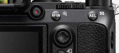AF-ON button and multi-selector