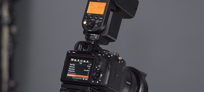External flash control from the camera