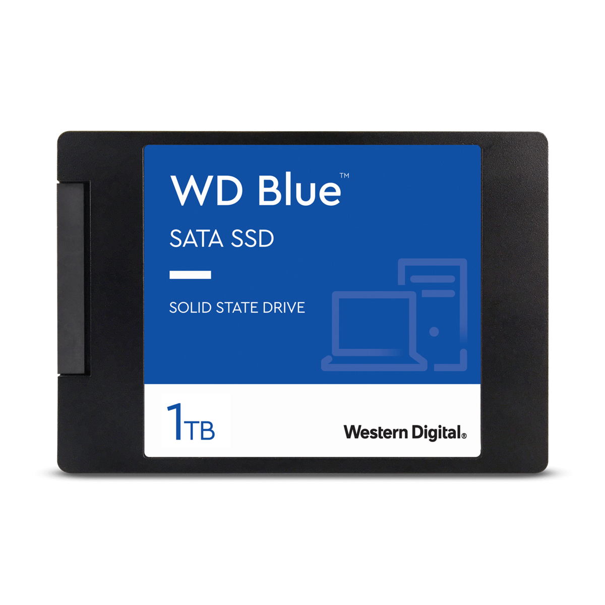 slide 1 of 4,show larger image, wd blue<sup>™</sup> sata ssd - 1tb