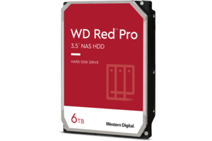 WD Red<sup>™</sup> Pro 6TB NAS Hard Drive