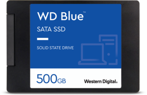 WD Blue<sup>™</sup> SATA SSD - 500GB