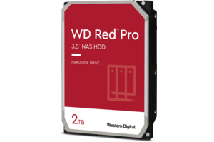 WD Red<sup>™</sup> Pro 2TB NAS Hard Drive