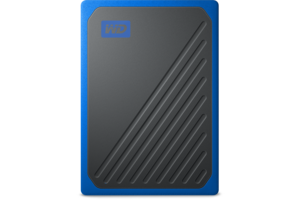 My Passport Go 2TB Black w/ Cobalt Trim