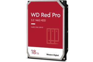 WD Red<sup>™</sup> Pro 18TB NAS Hard Drive