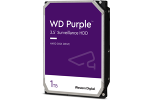 WD Purple<sup>™</sup> Surveillance Hard Drive 1TB