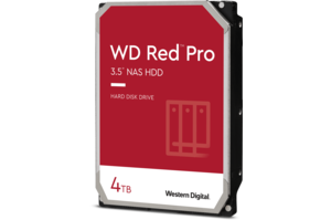 WD Red<sup>™</sup> Pro 4TB NAS Hard Drive