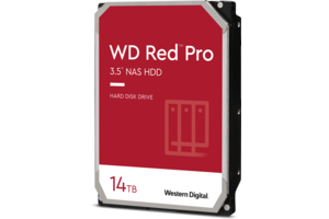 WD Red<sup>™</sup> Pro 14TB NAS Hard Drive