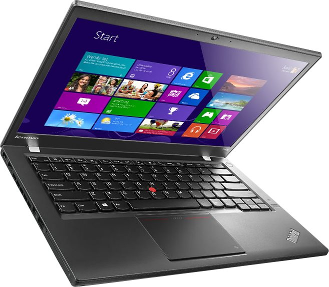 slide 2 of 15,show larger image, lenovo thinkpad t440s 20ar: left-angle view