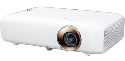LG Minibeam LED Projector with Built-In Battery, Bluetooth Sound Out and Screen Share