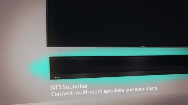 Sleek, Stylish Sound Bar with Hi-Res Audio and Wireless Streaming
