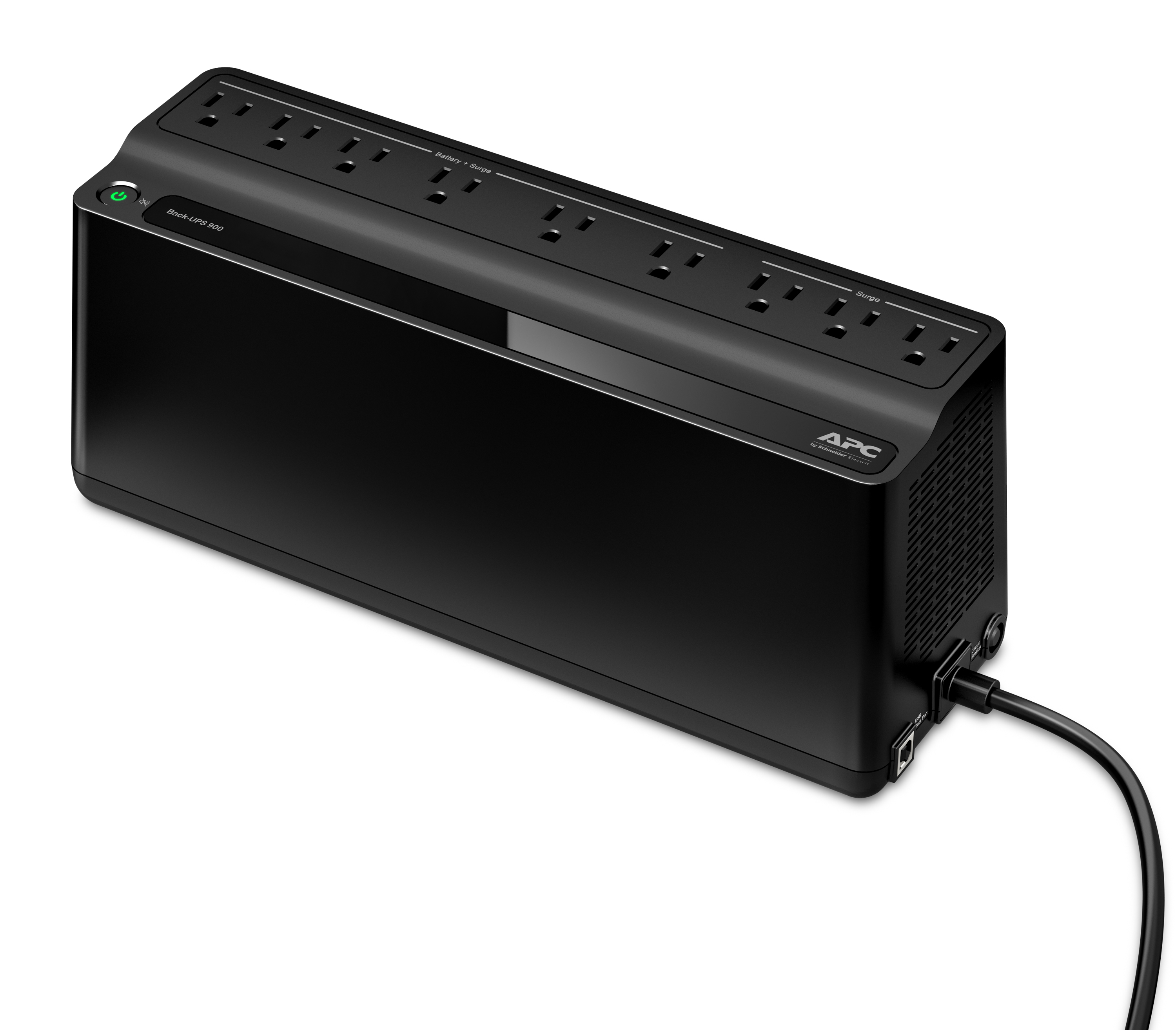 APC Back UPS BN900M Battery Backup 9 Outlet 900VA480W by fice Depot & ficeMax