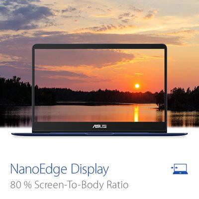 Brillantes NanoEdge-Display