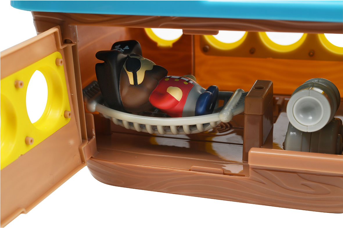 Buy Chad Valley Tots Town Pirate Ship Playset | Toy boats | Argos