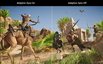 ADAPTIVE-SYNC (FREESYNC™) TECHNOLOGIE