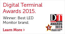 Dell won Best LED Monitor Brand award - Digital Terminal Awards 2015