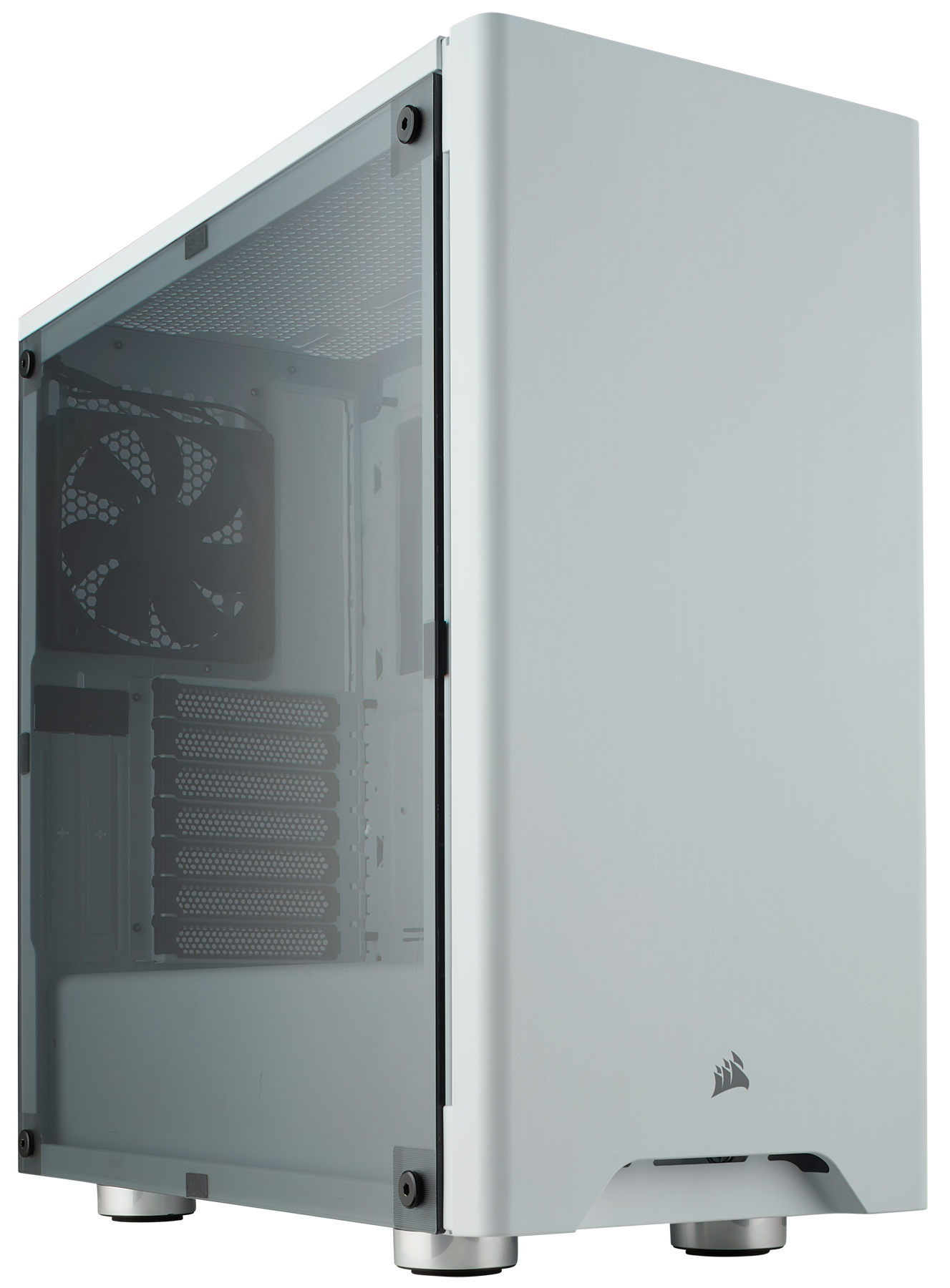 new styles 61d15 6f313 Corsair Carbide Series 275R Mid-Tower Gaming Case, White - Newegg.com