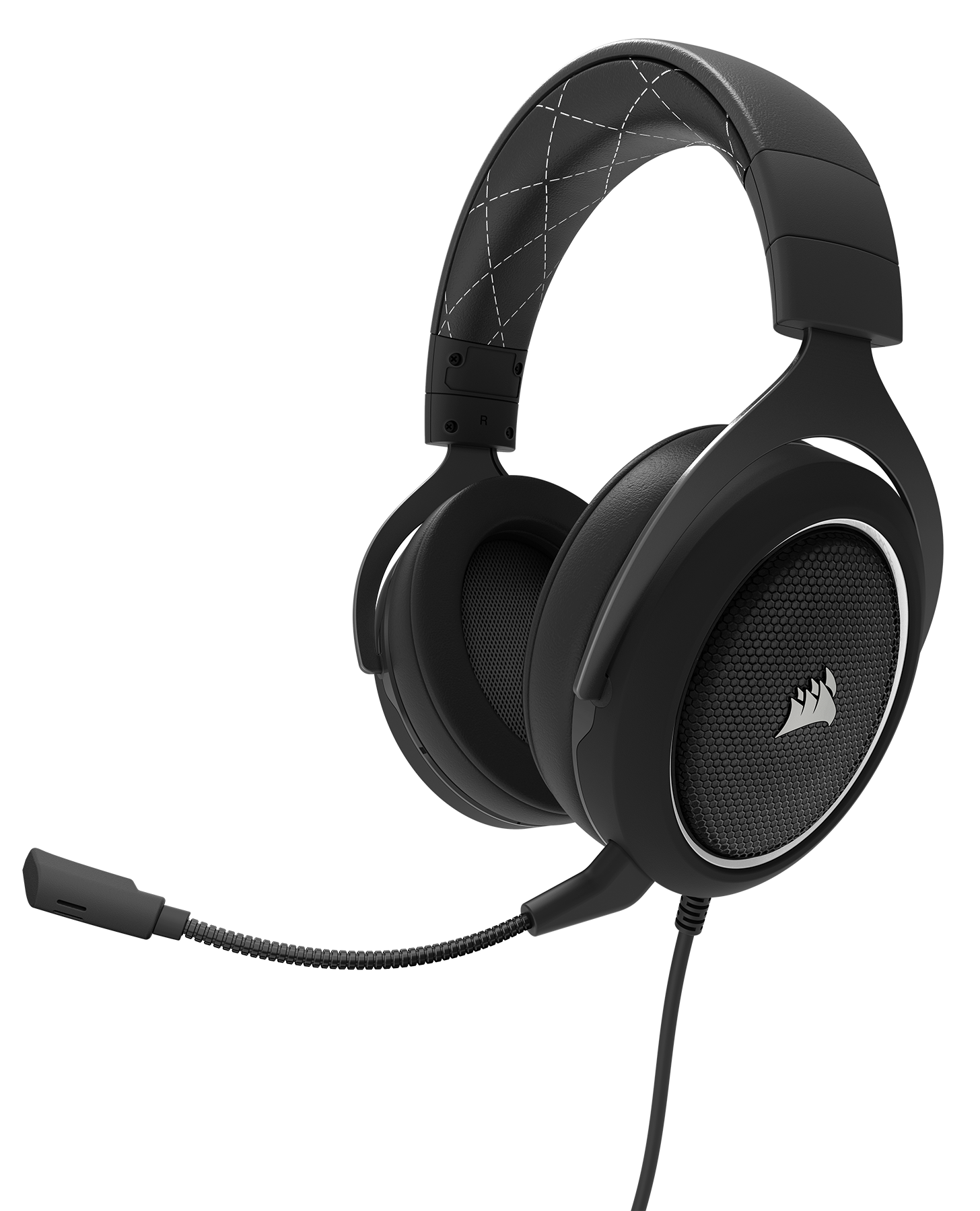 540f8743968 Corsair HS60 Surround Stereo Gaming Headset with 7.1 Surround Sound - White