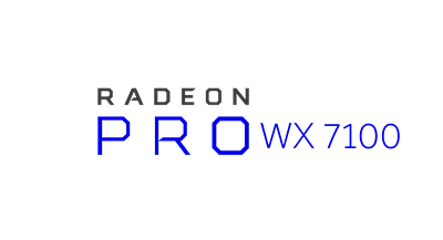 Radeon Pro WX 7100 Workstation Graphics