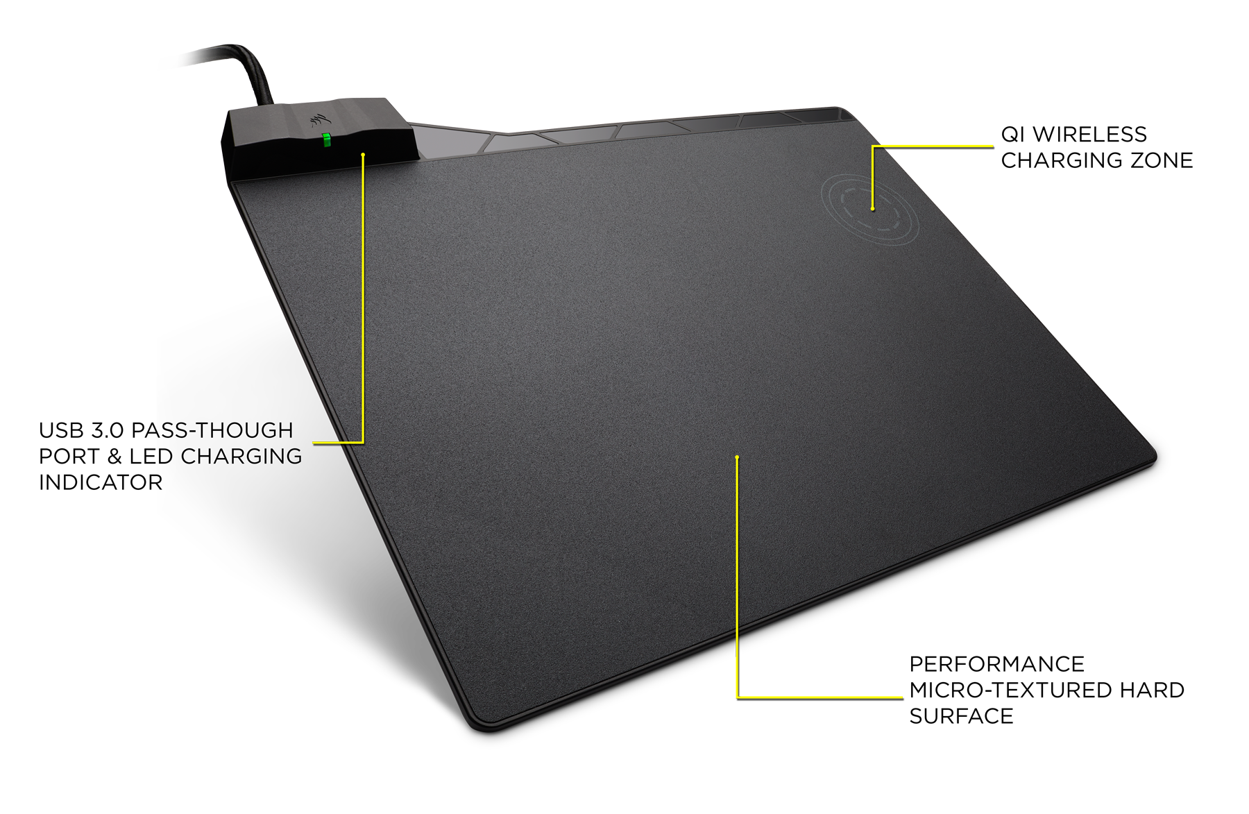 Wireless Charging Surface Wire Center Dc215 Serial Cable Wiring Diagramgif Corsair Gaming Mm1000 Qi Mouse Pad Newegg Com Rh